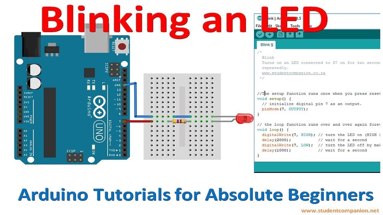 Arduino For Beginners Tutorial