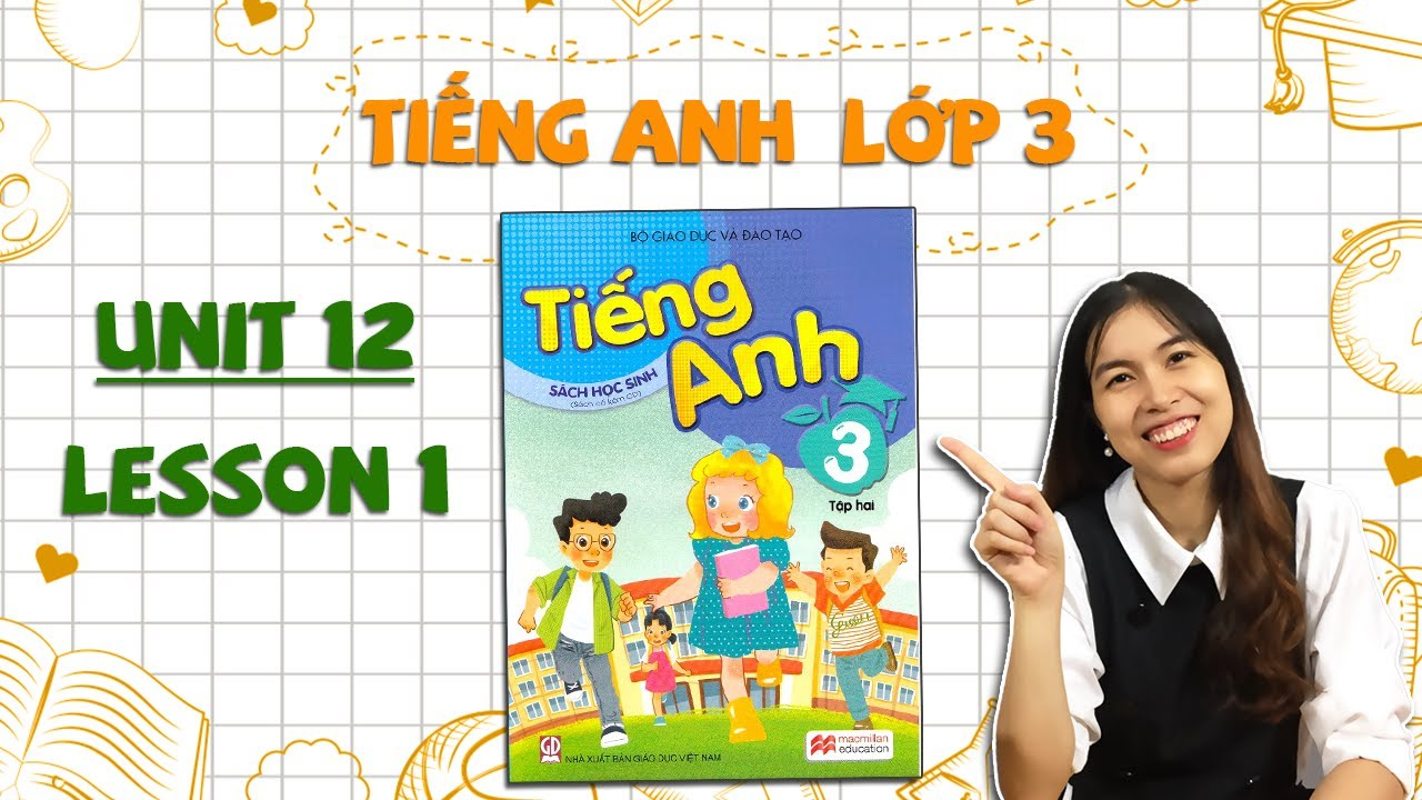 Học tiếng Anh lớp 3 – HỌC KÌ 2 – Unit 12. This is my house – Lesson 1 – THAKI