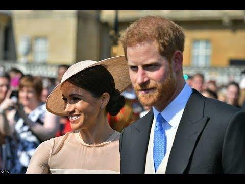 Глаз не отвести! Посмотрите в чем Принц Гарри и Меган Маркл впервые вышли в свет после свадьбы