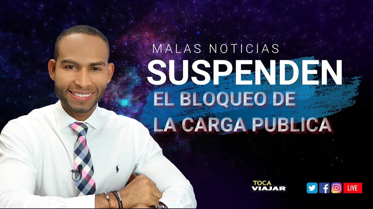 """ÚLTIMA NOTICIA DE INMIGRACIÓN: Lo que está pasando con la """"Carga Pública"""" un Juez anula el bloqueo"""