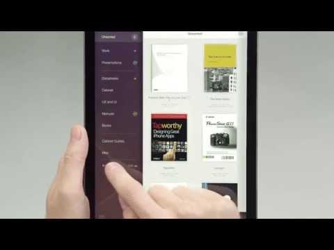 PDF Cabinet 2.0 for iPad — Folder Management (Tutorial)