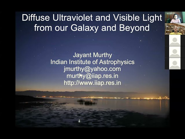 SAAO Colloquium 12August2021 - Diffuse Ultraviolet and Visible Light from our Galaxy and Beyond