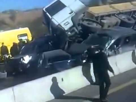 Accident Grave , Sur Autoroute Est-Ouest, Algérie