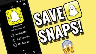 Snapchat Tricks- Save Snaps Secretly On Android Without Knowing! No App Needed! 2016