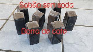 👍    Sabão  sem soda  de borra de café 👍
