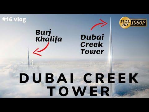 DUBAI CREEK TOWER- LIVE Observation Deck, World's Tallest Building UAE 2020-2021 – Flying Turtle