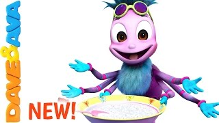 🤗 Little Miss Muffet Song | Rhymes for Kids, Children and Toddlers from Dave and Ava 🤗