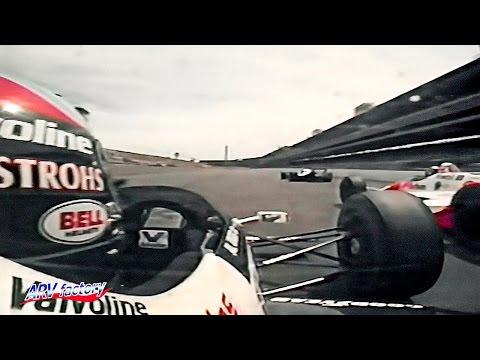 Emerson Fittipaldi vs. Al Unser Jr 1989 Indy 500