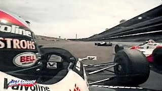 Emerson Fittipaldi vs. Al Unser Jr 1989 Indy 500