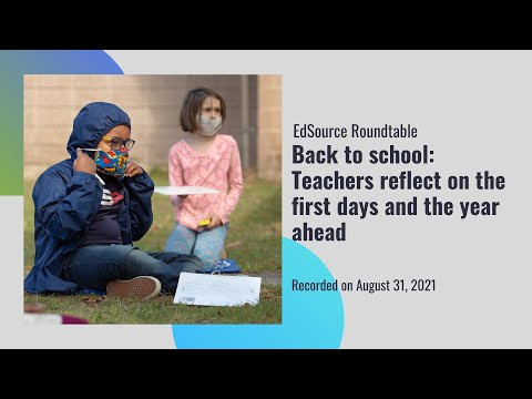 Teachers reflect on the first days and the year ahead