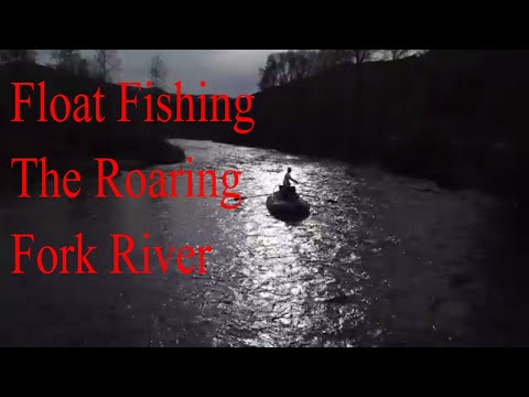 Float FLY FISHING The Roaring Fork River, Basalt C.O. May 2018