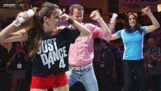 Just Dance 4 Wii U gameplay - Flo Rida and Rihanna dance routines (HD 1080p)