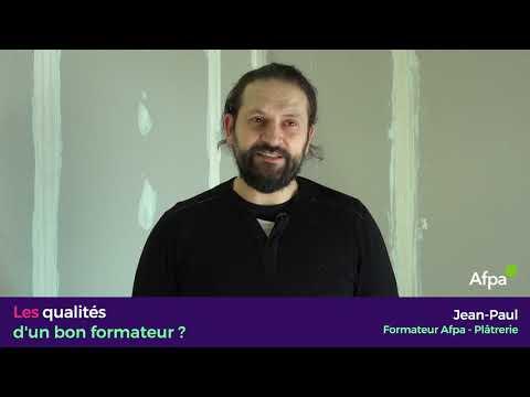 Jean-Paul, Formateur Plâtrerie