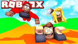 WE ARE TRANSFORMING US INTO ROBLOX!