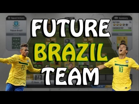 FIFA 13 - The Future BRAZIL Nation Team - Squad Builder