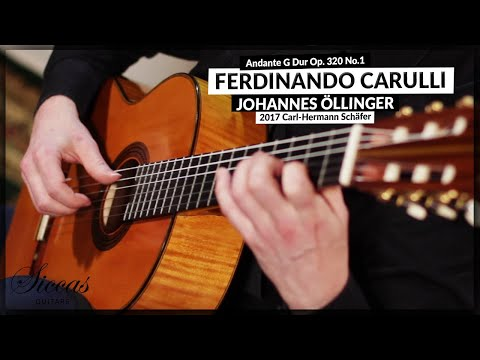 Andante G Dur Op. 320 No. 1 by Ferdinando Carulli | Johannes Öllinger Classical Guitar