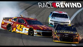 Hamlin survives wreck filled race at Kansas Speedway | NASCAR Cup Series in 15 minutes