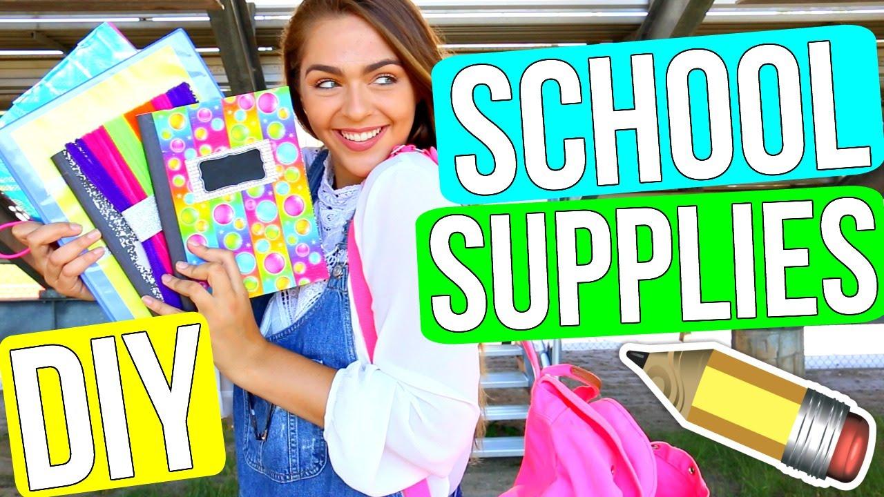 Bethany Mota School Supplies Giveaway