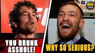 Conor McGregor & Ben Askren GO BACK AND FORTH on Twitter, Wonderboy vs Vicente Luque set for UFC 244