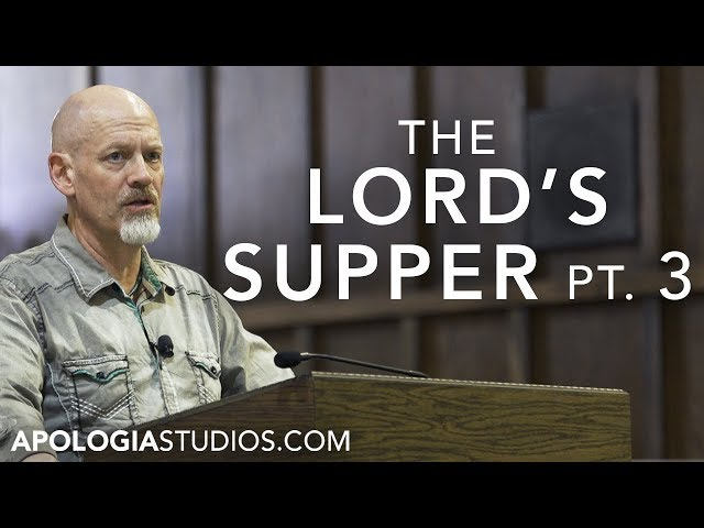 James White on the Lord's Supper (Pt. 3)