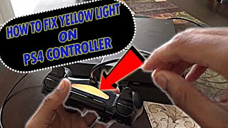 How To Fix PS4 Controller With Yellow Flashing Light (PART 3) *2019 Simple Method