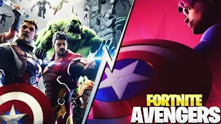 EL REGRESO DE THANOS? y CAPITÁN AMERICA *FORTNITE X AVENGERS* | FORTNITE: Battle Royale