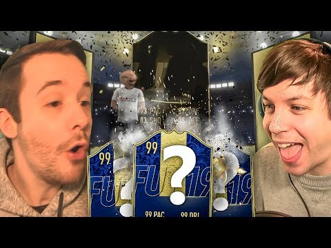 THE PACK LUCK IS ON POINT TODAY!!! - FIFA 19 ULTIMATE TEAM PACK OPENING thumbnail