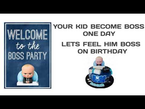 Boss Baby Birthday Theme Decoration || Lucknow || Varanasi