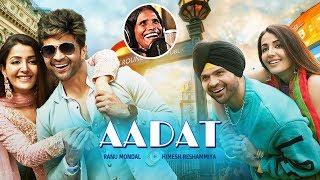 Aadat Song Happy Hardy And Heer Himesh Reshammiya & Ranu Mondal HUNGAMA