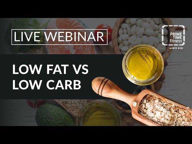 Ernährung Low Fat vs. Low Carb