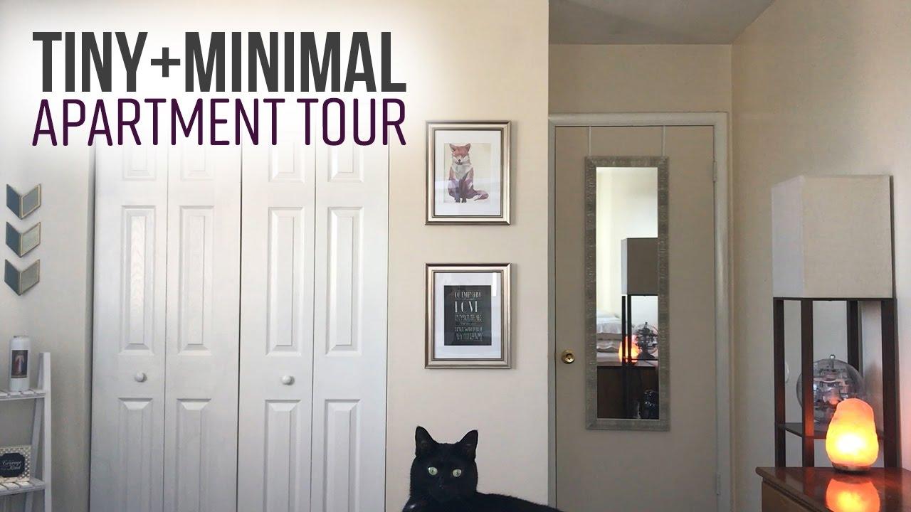 Tiny Apartment Tour Practical Minimalism For Small Es My Minimalist Journey