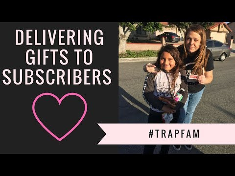 Delivering Gifts to Subscribers!!!
