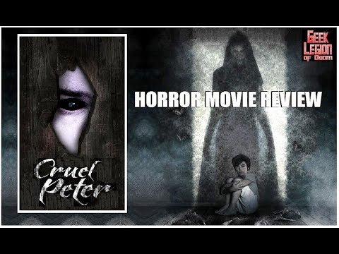 CRUEL PETER ( 2019 Rosie Fellner ) aka MAMA : гостья из тьмы Ghost story Horror Movie Review
