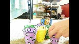 Get Creative! Make Coffee Cup Shelves In Under 3min!! =)