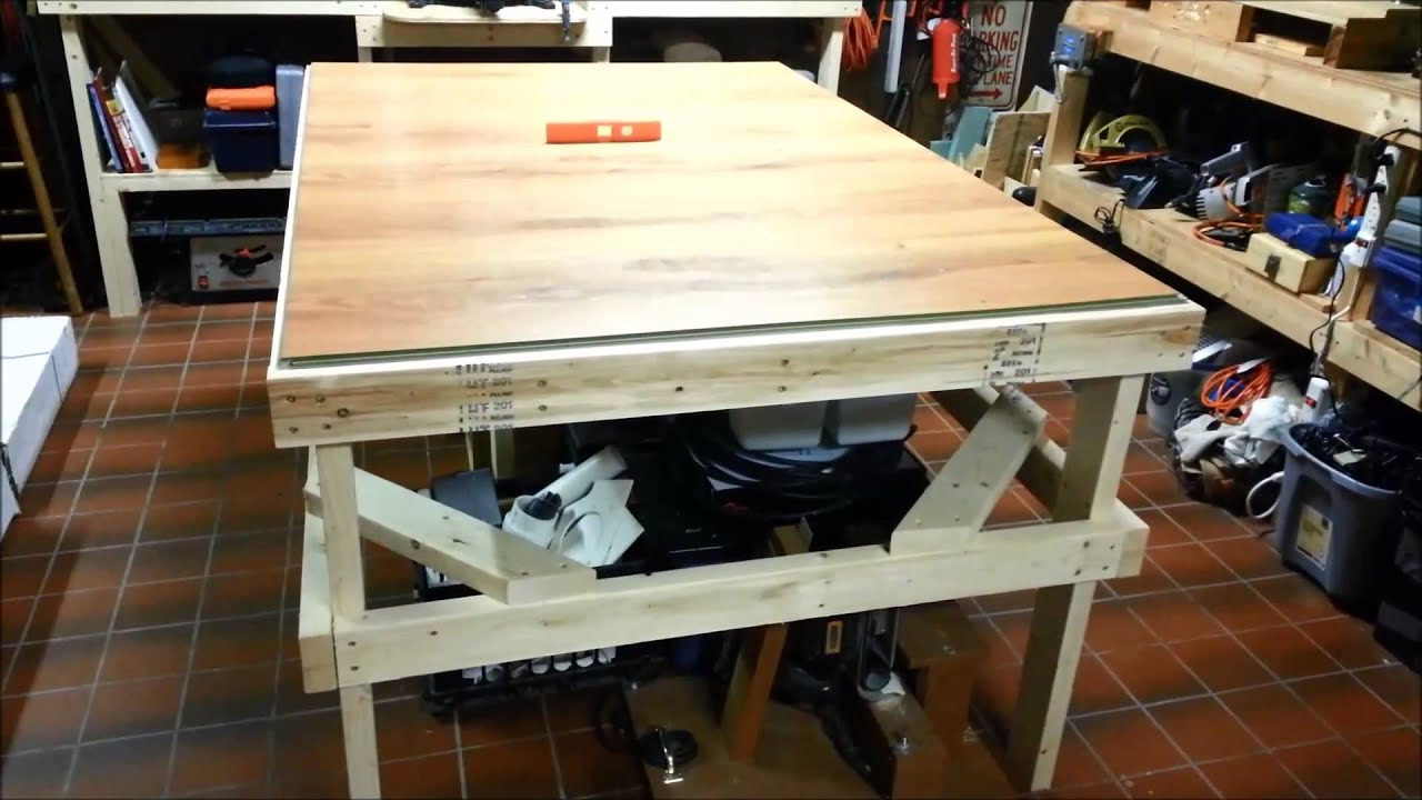 Laminate Flooring Workbench Youtube