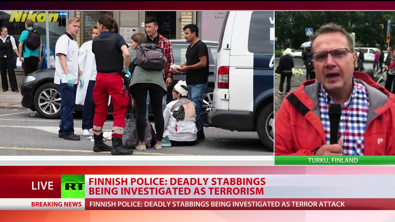 Attack in Turku, Finland, Investigated as Terrorism
