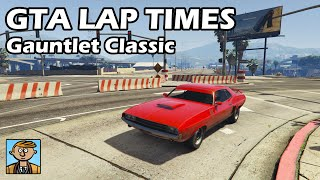 Fastest Muscle Cars (Gauntlet Classic & Slamvan) - GTA 5 Best Fully Upgraded Cars Lap Time Countdown