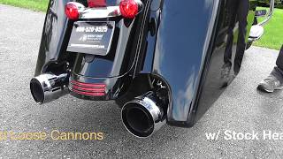 20 Different Slip On Mufflers  Harley Davidson Milwaukee 8 Touring Models