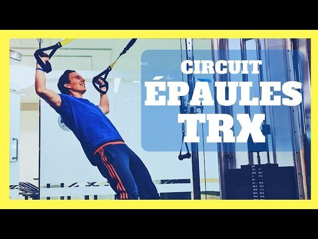 3 Exercices Épaules à faire sur le TRX | Entraînement en suspension