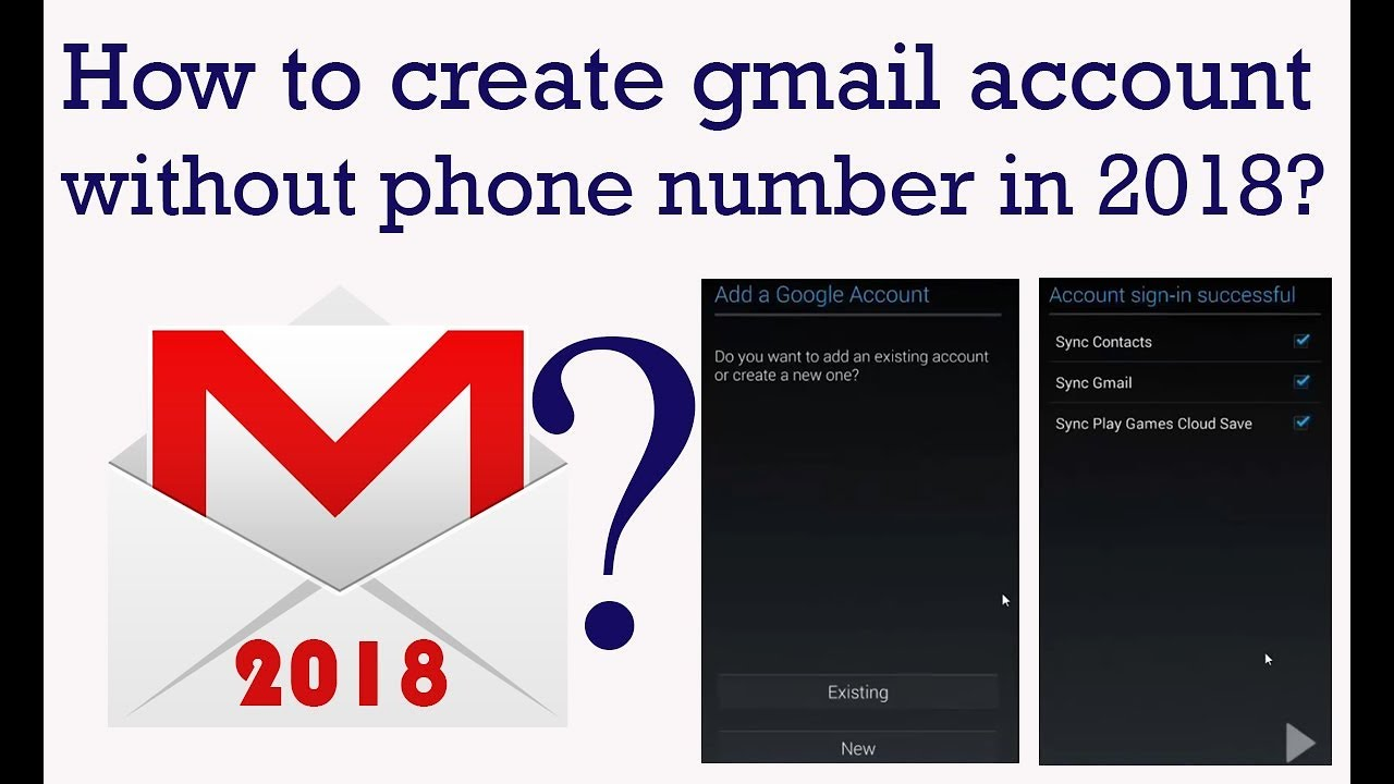 How to create Gmail account without Phone Number in 2018?