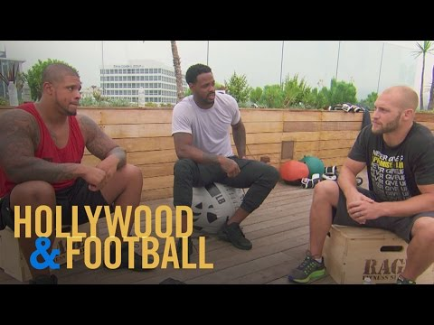 """Hollywood & Football"" Stars Joke About Health Conscious L.A. 