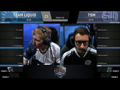 TSM vs TL, Game 2 - 2017 NA LCS Summer Week 6 - Team SoloMid vs Team Liquid