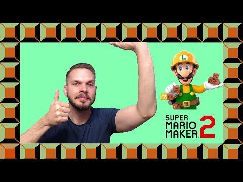 Super Mario Maker 2 Level Design - Scroll Stopping (2019)