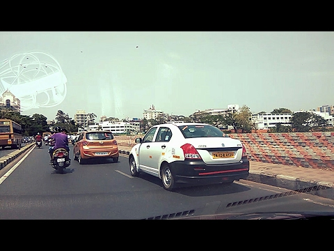 Driving Through Chennai City |Hotel...