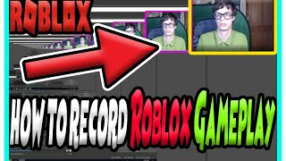 How to Record your Roblox Game-play| (OBS Studio Tutorial)
