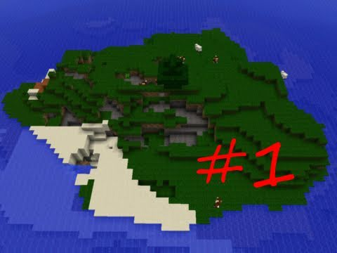 Minecraft Survival Island Custom Map Part 1: Fail Island - YouTube