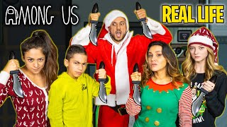 AMONG US in REAL LIFE! (CHRISTMAS EDITION)  The Royalty Family