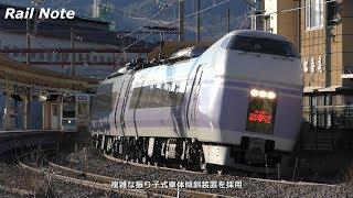 〔字幕解説〕国鉄型からJR新型まで 中央線の特急列車たち