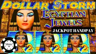 ⚡️DOLLAR STORM EGYPTIAN JEWELS ⚡️HANDPAY NEW STYLE OF LIGHTNING LINK⚡️