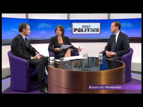 BBC Daily Politics - Roland Rudd on British EU membership